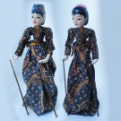 BONEKA WAYANG JAWA KAYU